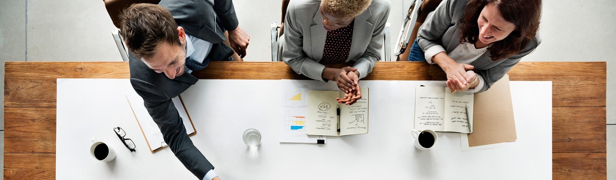 Opp app voor commerciële organisaties